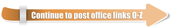 Continue to post office links O-Z