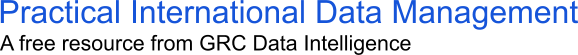 Practical International Data Management Online