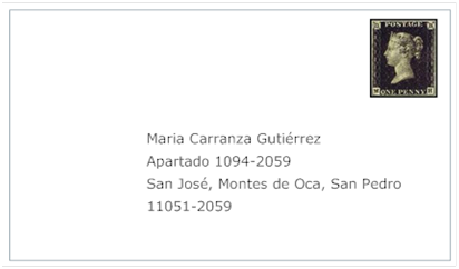 mailing address in spanish
