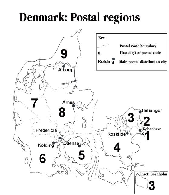 Aalborg zip code