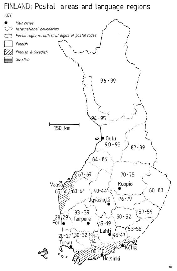 What Is Zip Code Of Finland