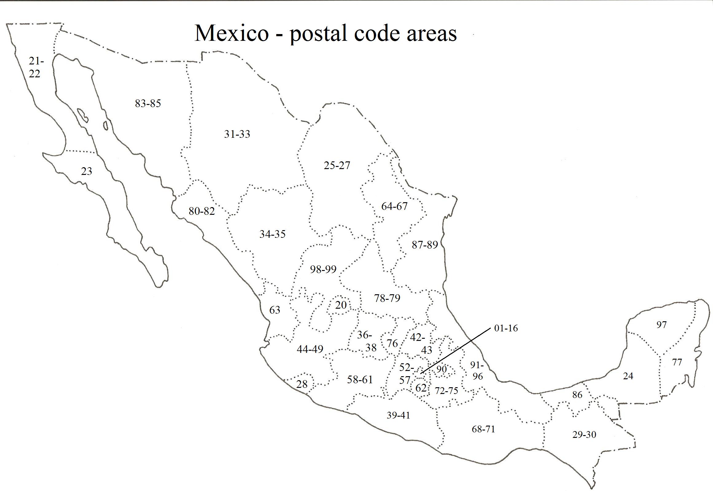 Global sourcebook for international data management postal code map publicscrutiny Gallery