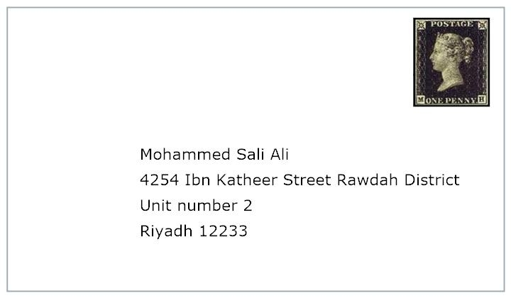 Saudi arabia address format dolapgnetband saudi arabia address format altavistaventures Images