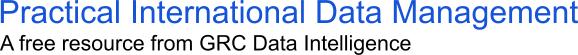 Practical International Data Management Online